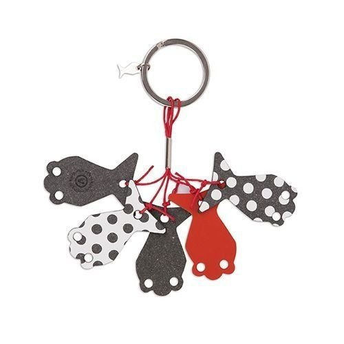 SCHOOL FISH CHARN KEY HOLDER