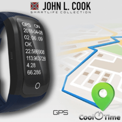 Smart Watch John L. Cook Pacer GPS - Cool Time