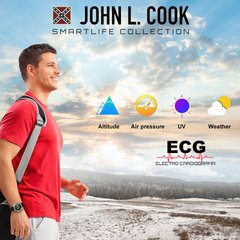 Smart Watch John L. Cook ECG - comprar online