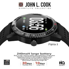 Smart Watch John L. Cook Fenix II - comprar online