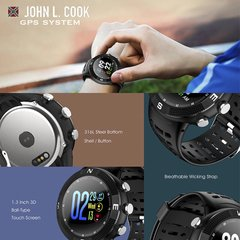Smart Watch John L. Cook Mega GPS en internet