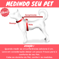 (489) COLEIRA PEITORAL PUPPY ANGEL (G) na internet