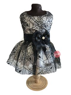 (1755) VESTIDO FANTASIA HALLOWEEN # TEIA # PP on internet