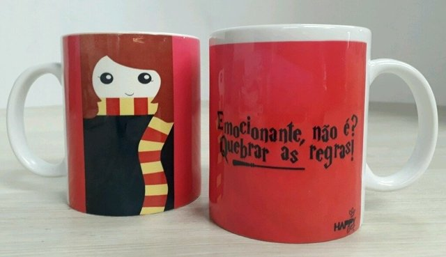 Caneca Hermione (Harry Potter)