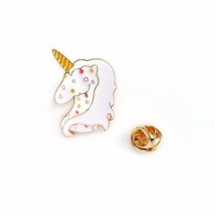 Pin Unicórnio Dots Unicorn em metal