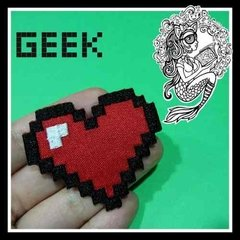 Kit Geek Patches Termocolantes - The Mermaid Store