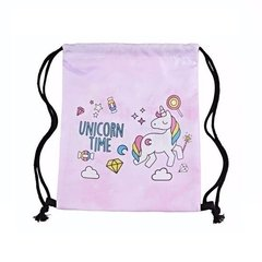 Sacochila Unicorn Time