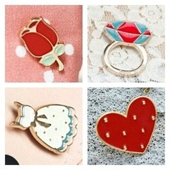 Kit Romantic Com 4 Pins - comprar online