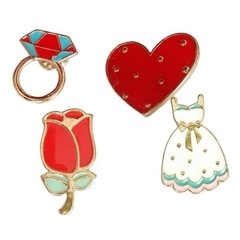 Kit Romantic Com 4 Pins