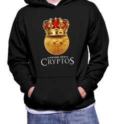 Blusa Moletom Bitcoin King 2 (Cód. 011G)