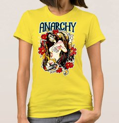 Baby Look Anarchy Woman (Cód. 002D) - comprar online