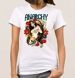 Baby Look Anarchy Woman (Cód. 002D) na internet