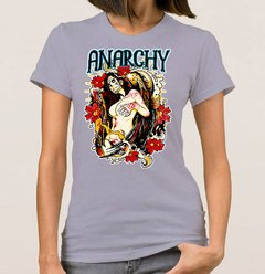 Baby Look Anarchy Woman (Cód. 002D) - Camisetas Libertárias