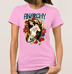 Baby Look Anarchy Woman (Cód. 002D) - loja online