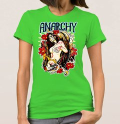 Baby Look Anarchy Woman (Cód. 002D)