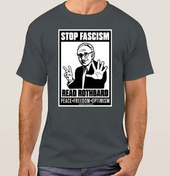 Imagem do Camiseta Rothbard Stop Facism (Cód. 066C)