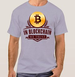Camiseta Bitcoin We Trust (Cód. 012C)