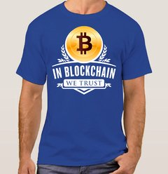 Camiseta Bitcoin We Trust (Cód. 012C) - Camisetas Libertárias