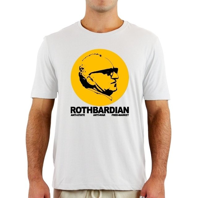 Camiseta Rothbardian na internet