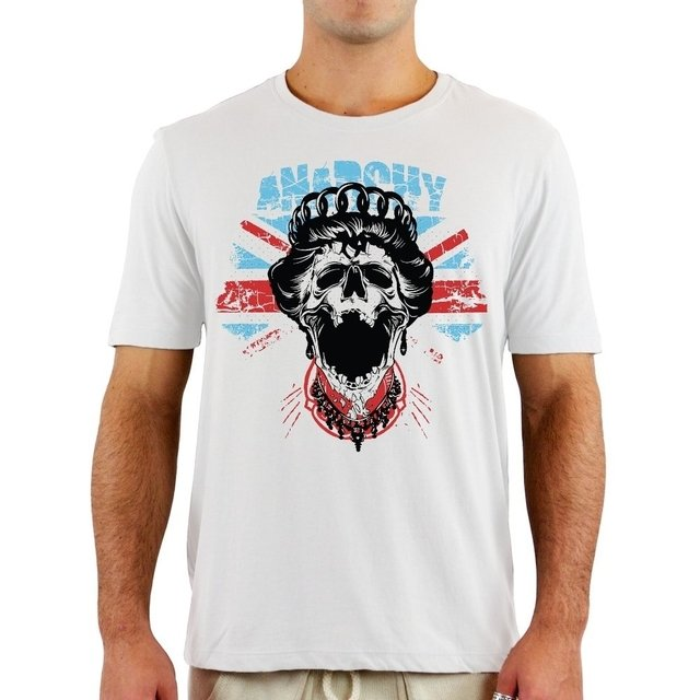 Camiseta Queen Anarchy - comprar online