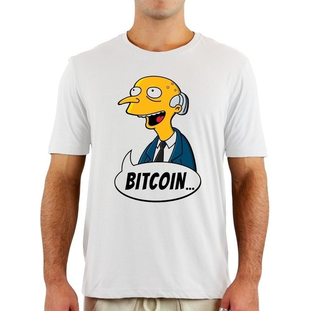 Camiseta Mr. Burns