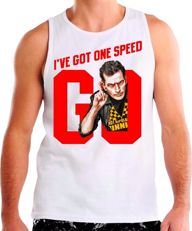 Regata Charlie Sheen I've Got One Speed Go - comprar online