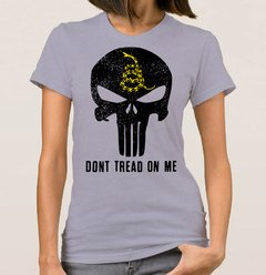 Baby Look Punisher Ancap (Cód. 091D) - Camisetas Libertárias