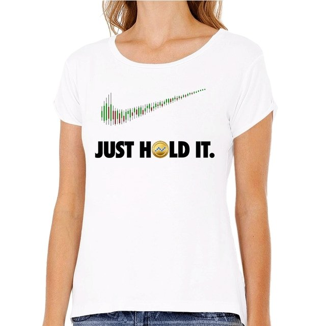Camiseta Nano HOLD It na internet