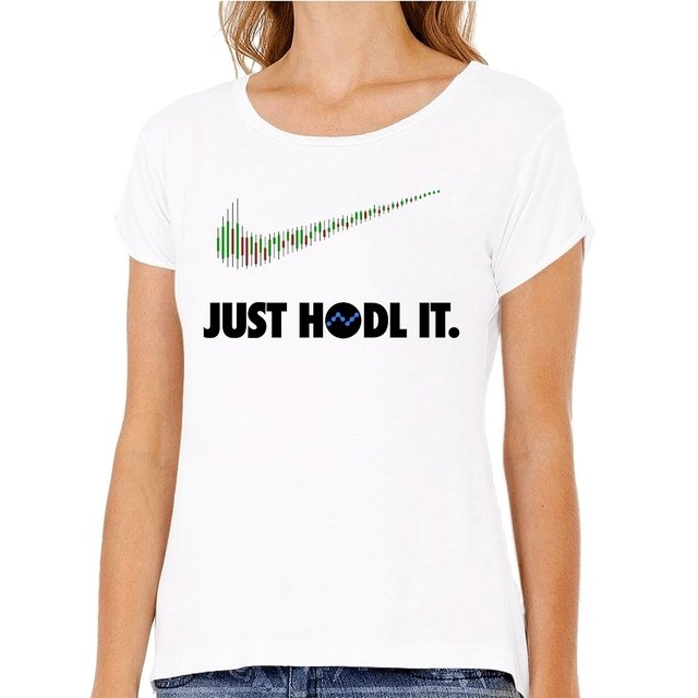 Camiseta Nano HODL It na internet