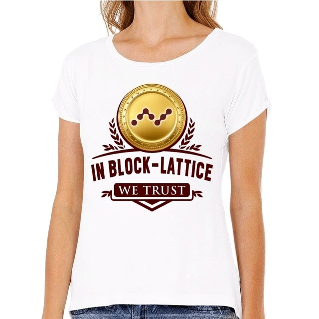 Camiseta Nano In Block - Latice We Trust - comprar online