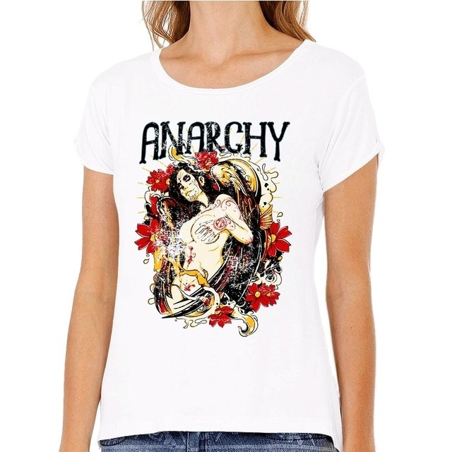 Camiseta Anarchy Woman - comprar online