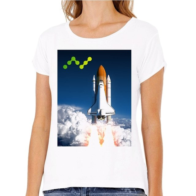 Camiseta Nano Space Shuttle 2 na internet