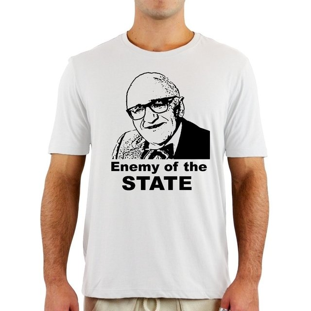 Camiseta Rothbard Enemy