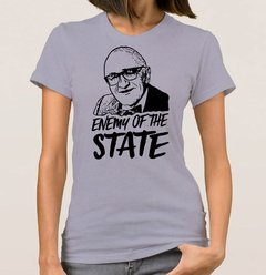 Baby Look  Enemy of the State (Cód. 064D) - Camisetas Libertárias