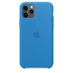SILICON CASE IPHONE AZUL