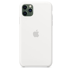 SILICON CASE IPHONE BLANCO