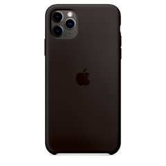 SILICON CASE IPHONE NEGRO - Bringcol