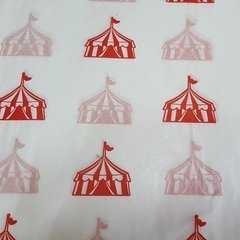 10 Papel barrilete Circo