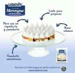 Merengue Ledevit x 250 grs.