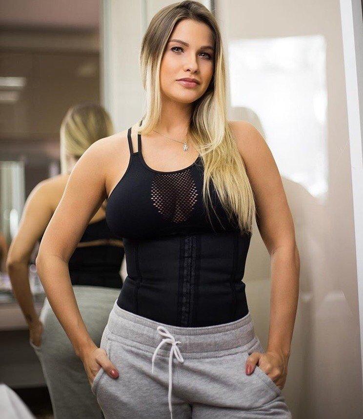 cdf424b84 Cinta Modeladora Fitness - Preta - Jana Store