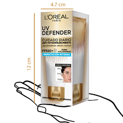 Crema Hidratación Intensa FPS 50 L'Oréal Paris UV Defender x40g en internet