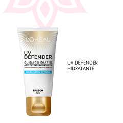 Crema Hidratación Intensa FPS 50 L'Oréal Paris UV Defender x40g