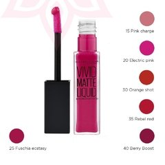Color Sensational Vivids Matte Liquid