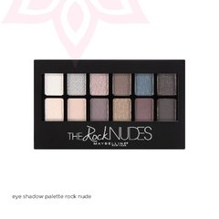 Eye Shadow Palette Rock Nude