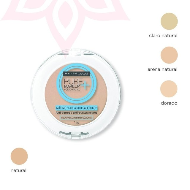 Pure Make Up Plus Polvo Compacto