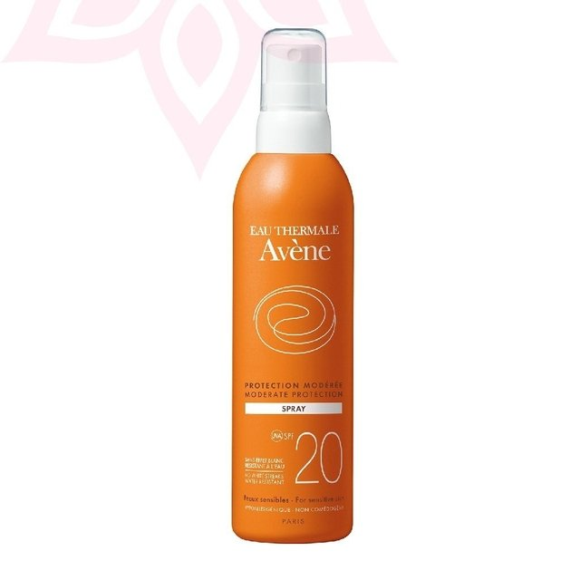 Spray SPF 20 Gama Naranja