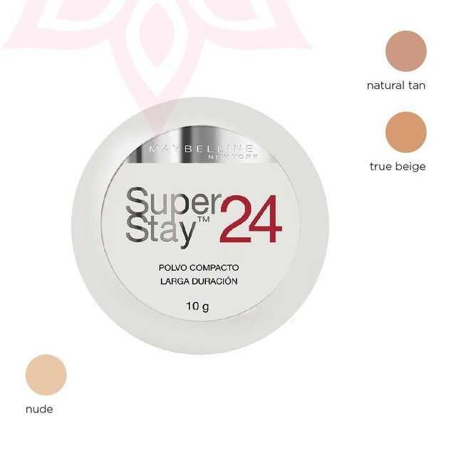 Super Stay 24 hs polvo compacto