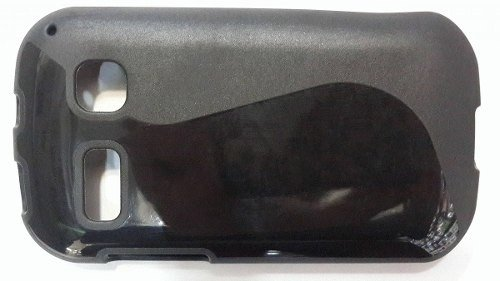 Funda Alcatel One Touch Pop C3 Tpu Negro Colores Protector - TECNO2020