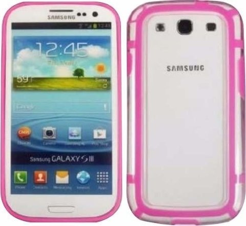 Bumper Samsung S3 I9300 Protector Bordes Vs Colores en internet