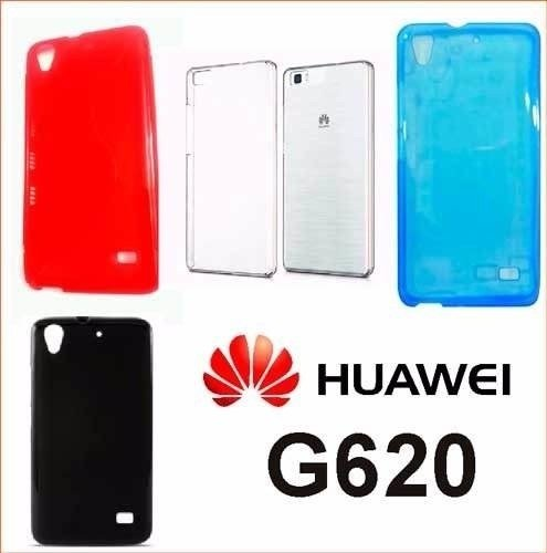 Funda Huawei G620 Ascend Protector Tpu  Vs Colores G620s